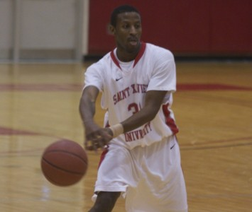 Senior point guard Anthony Grant went 8-for-12 from the field for 16 points Thursday against Olivet