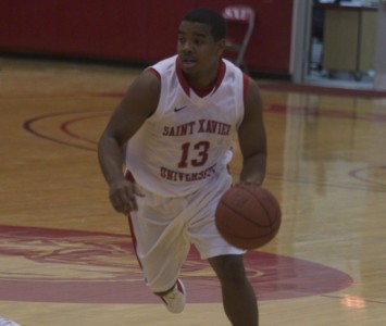 Senior Roosevelt Green was responsible for half of Saint Xavier's offense Saturday with 22 points and five assists against No