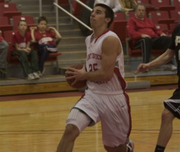 Junior Brad Karp had 13 points and four steals for SXU Wednesday against IUSB