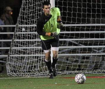 Junior keeper Kyle Held had four saves and recorded his ninth career shutout Wednesday