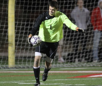 Junior keeper Kyle Held has five shutouts in eight games for SXU already this season