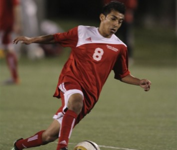 Sophomore Luis Medina was the hero for Saint Xavier Friday night