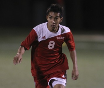 Sophomore Luis Medina had a goal and an assist for the Cougars in Tuesday's 2-1 victory
