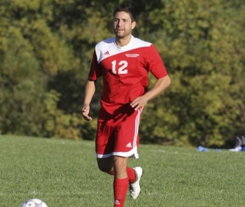 Senior Sam Vanaria earned first team honors on the 2012 All-CCAC Squad