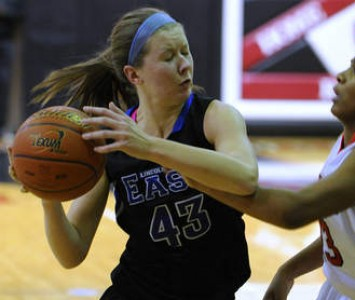 Lincoln-Way East's Meaghan McMahon will become a Cougar women's basketball player for the 2013-14 season