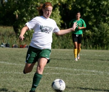 McHenry East's Amber Pringle joins the Cougar women's soccer program in the fall of 2013
