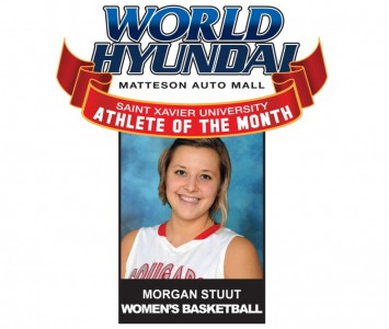 Sophomore Morgan Stuut - World Hyundai-Saint Xavier January Athlete of the Month