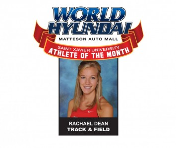 Senior Rachael Dean - World Hyundai-Saint Xavier February Athlete of the Month