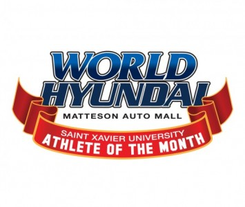 World Hyundai Matteson and SXU Athletics will select a Cougar athlete to feature each month