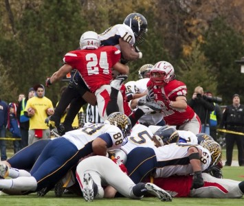 Here are even more highlights from SXU's 23-6 victory over No. 1 Marian