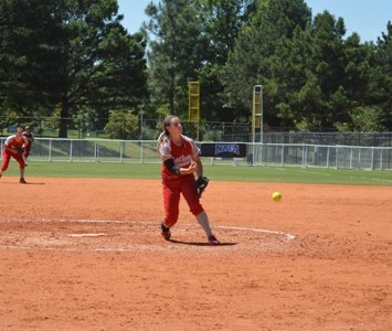 Freshman Nicole Nonnemacher pitched a complete game and added an RBI at the plate in SXU's 3-1 win.