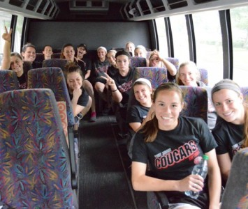 The Saint Xavier softball team had a full day with a practice session, a frozen treat stop and a banquet