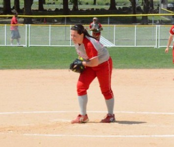 Junior Megan Nonnemacher had 12 Ks for the second straight game