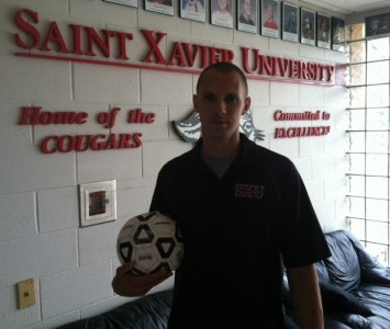 Evan Strehlau will take over the SXU women's soccer program in 2012