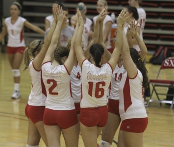 SXU Volleyball will co-host a 12-team tournament with Trinity Christian College this weekend