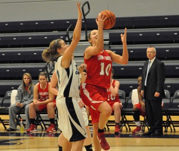 Sophomore Morgan Stuut notched her 12th double-double of the season with 26 points and 12 rebounds Thursday