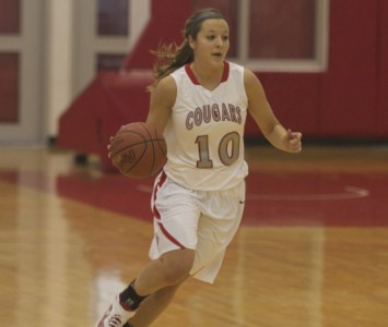 Sophomore Morgan Stuut set a new SXU rebounding record with 23 Saturday against TCC