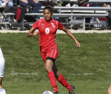 Junior Anita Balciunas scored the game-tying and game-winning goals for SXU Wednesday night