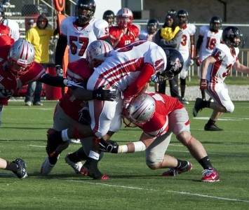 Check out these extended highlights of SXU's 54-10 win over Concordia Saturday