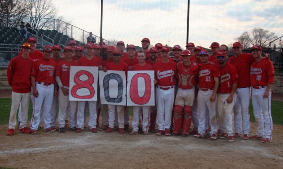 SXU head baseball coach Mike Dooley got his 800th career coaching victory Saturday at Ferrell Field
