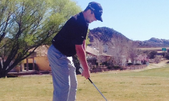 Junior Kyle Bahnick finished in a tie for ninth place overall and had a low round of 72 in Arizona