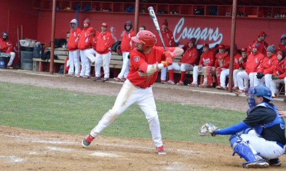 Sophomore Alec Barnhart had one of the two RBI singles in the 13th inning to help give SXU the 6-5 victory Saturday