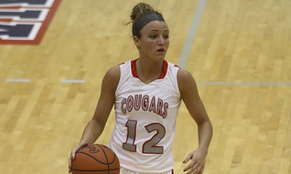 Senior Jordan Brandt had 11 points on 4-for-5 shooting for SXU Saturday