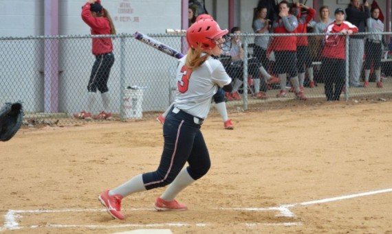 Freshman Savannah Kinsella racked up four hits with two runs scored and a RBI Sunday against Concordia (Mich.)