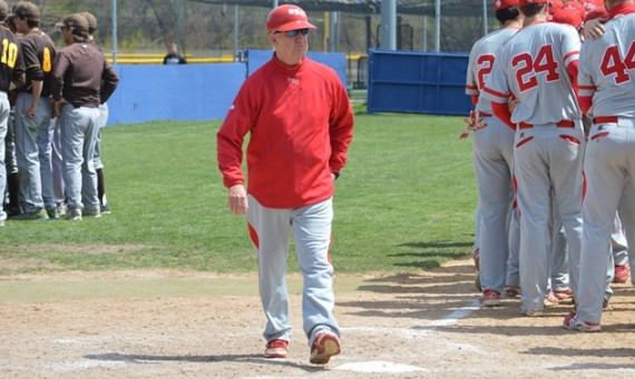 Coach Mike Dooley wrapped up his long coaching career at SXU Tuesday and finished with an 807-501-3 record
