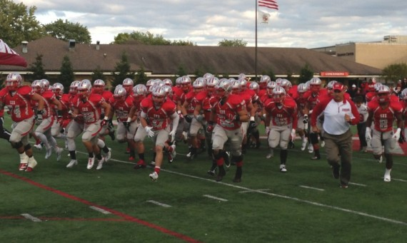 The 2014 SXU Football team is ranked No. 16 in the 2014 NAIA Preseason Top 25 Poll