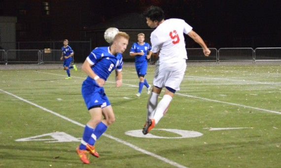 Sophomore Marco Gutierrez had a hat trick and an assist Tuesday against TIU