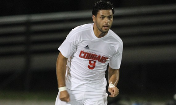 Junior Marco Gutierrez had the lone goal for SXU Saturday in a loss to UNO