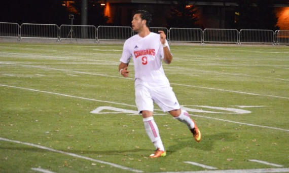 Sophomore Marco Gutierrez had the game-winning goal against IIT Wednesday