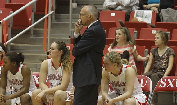 Coach Bob Hallberg's women's basketball team ranked No. 13 in the NAIA on the WBCA Academic Top 25 Honor Roll
