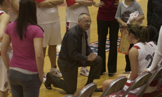 SXU women's basketball coach and athletics director Bob Hallberg will be honored on Nov. 13 at the Shannon Center