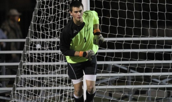 Senior Kyle Held had a pair of saves and notched his second shutout of the season Saturday