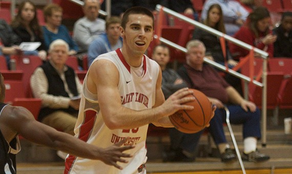 Senior guard Brad Karp - 2014 NAIA Division II All-Star team selection