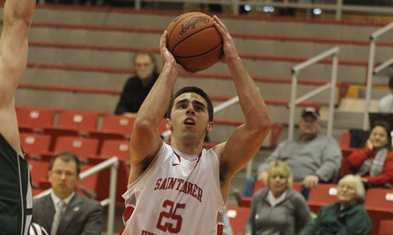 Senior Brad Karp had a huge game of 25 points, six rebounds and five assists against USF Wednesday