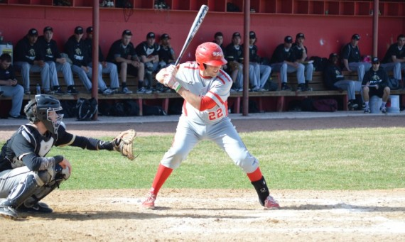 Senior Thomas Keating had three doubles and seven RBI in SXU's 13-11 loss to PUC Friday