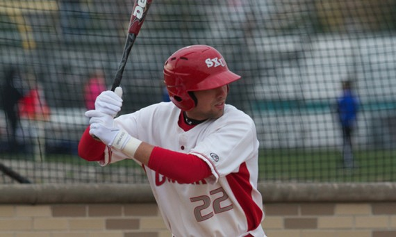 Senior Thomas Keating had some key hits in SXU's last four games in Florida