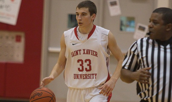 Senior Jack Krieger scored a game-high 27 points in Friday's 83-77 win over York (Neb.)