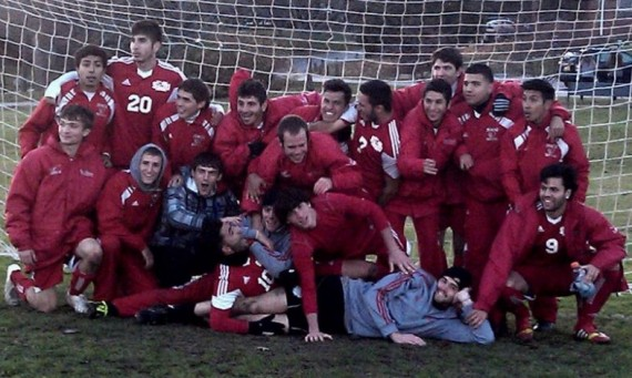 The SXU men's soccer team had plenty to celebrate after beating Judson in a PK shootout Saturday