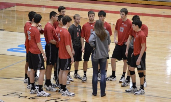SXU fell to No. 3 Missouri Baptist in three sets Friday night at the Shannon Center