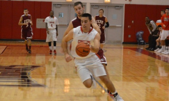 Senior Brad Karp scored 30 points and recorded five steals in Saturday's victory