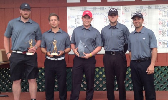 The Saint Xavier University men's golf team won the 2014 Pilot Spring Invitational hosted by Bethel College (Ind.)