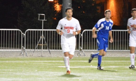 Sophomore Marco Gutierrez - CCAC Men's Soccer Offensive Player of the Week