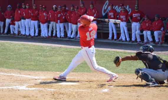 Senior Brad Myjak had the game-winning hit in SXU's 8-7 win over USF Tuesday