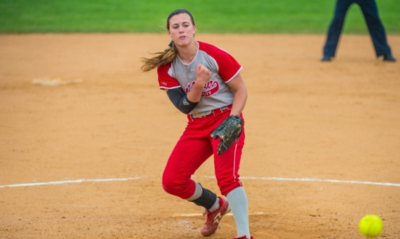 Sophomore Nicole Nonnemacher - NAIA Softball National Pitcher of the Week