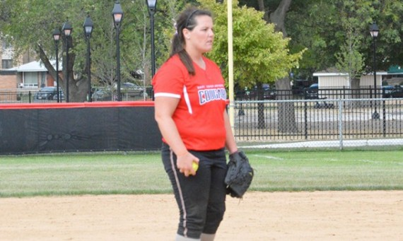 Senior Megan Nonnemacher - CCAC Softball Pitcher of the Week
