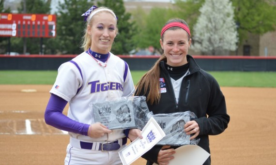 Olivet Nazarene's Hannah Gardner and SXU's Nicole Nonnemacher were named the 2014 CCAC Player and Pitcher of the Year Friday